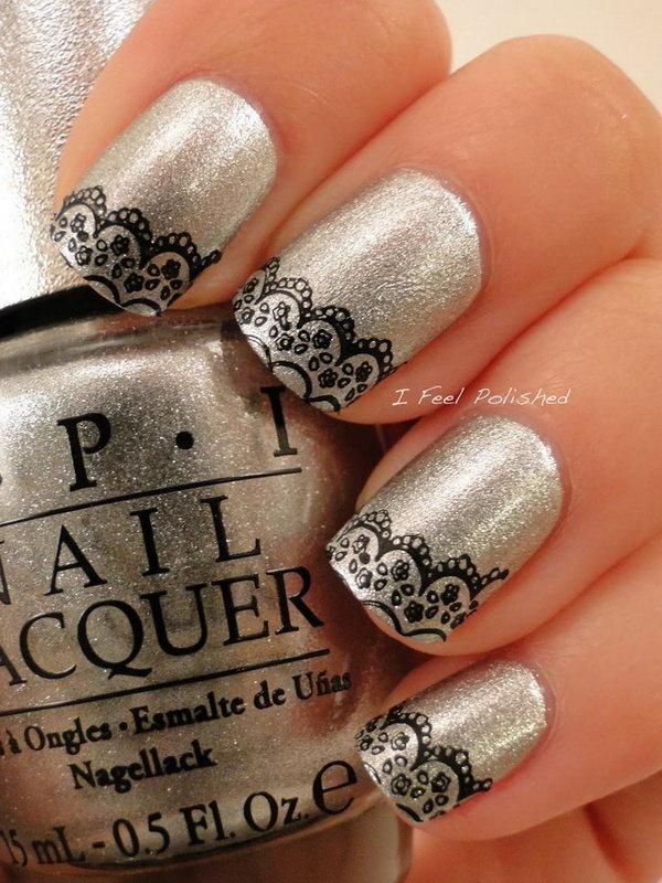 lace nail art 25