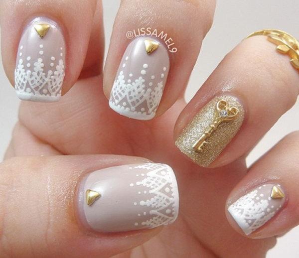 lace nail art 27