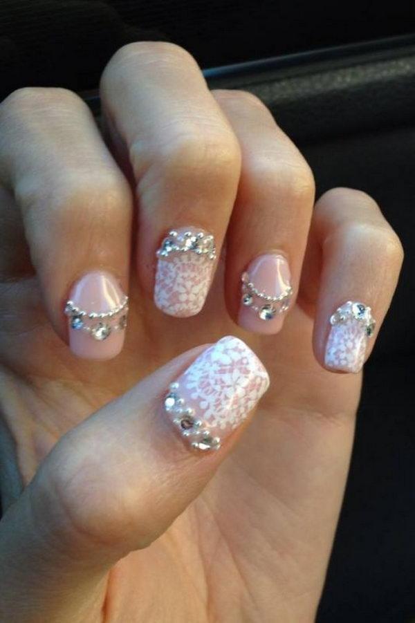 50 Intricate Lace Nail Art Designs Nenuno Creative