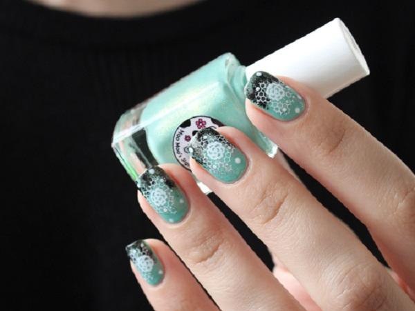 lace nail art 33