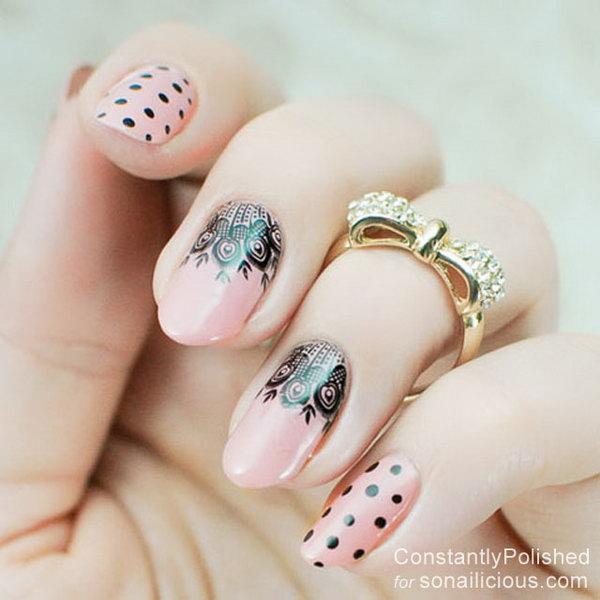 lace nail art 35