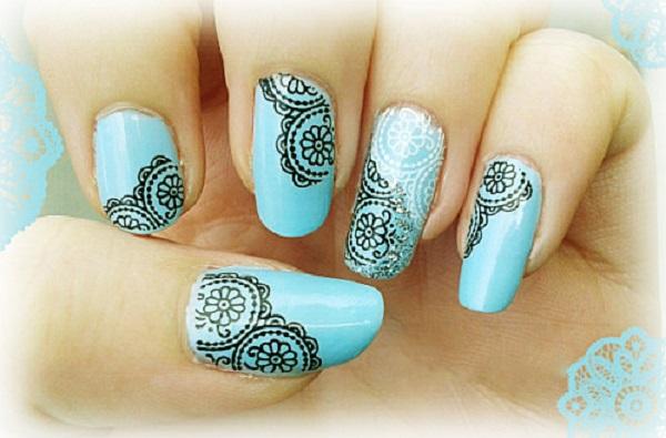 lace nail art 36
