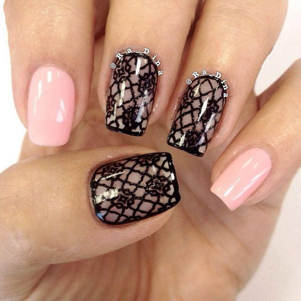 lace nail art 37