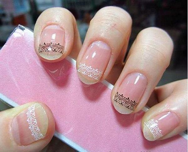 lace nail art 39