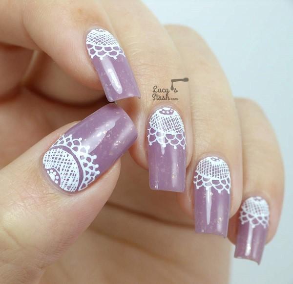 lace nail art 4