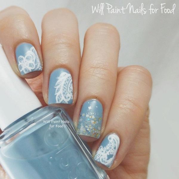 lace nail art 40