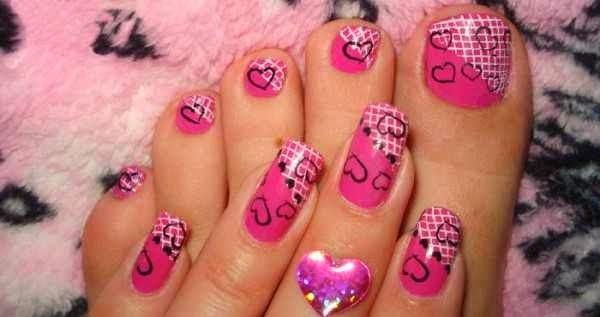 lace nail art 41