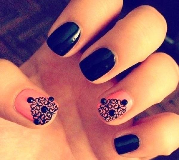 lace nail art 43
