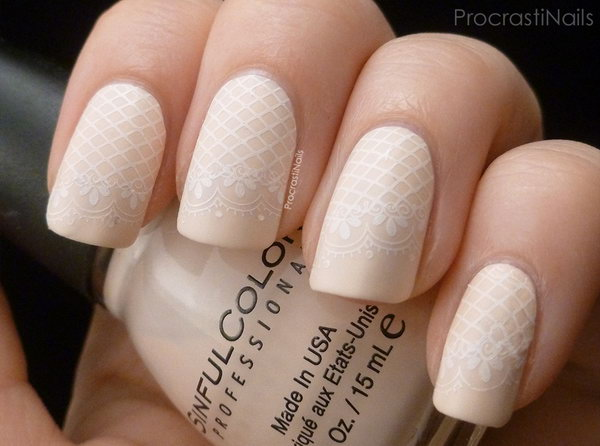 lace nail art 45