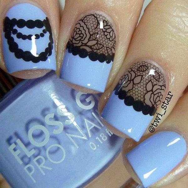 lace nail art 47