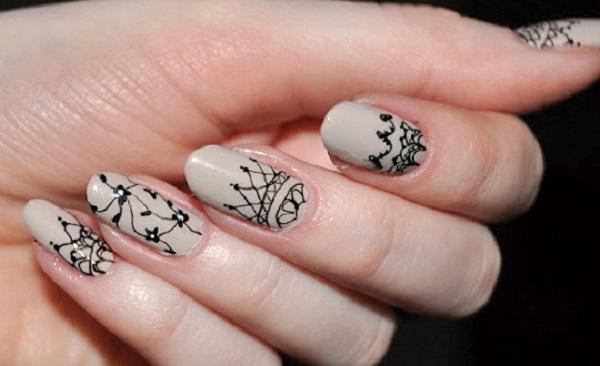 lace nail art 48