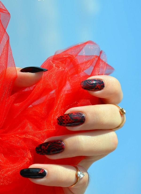 lace nail art 6
