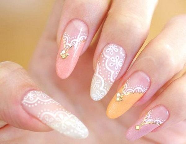 lace nail art 7