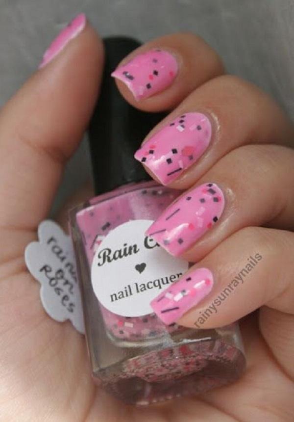 pink  nail art 20