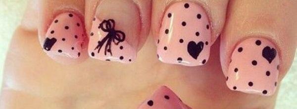 65 lovely pink nail art ideas nenuno creative 65 lovely pink nail art ideas prinsesfo Images