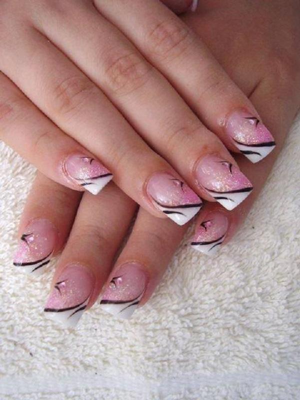 pink  nail art 25
