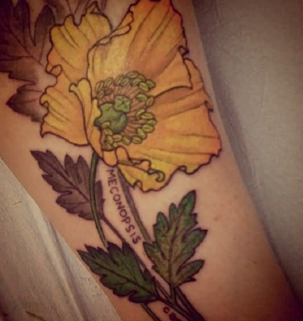 poppy flower tattoo 29