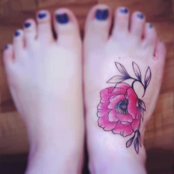 poppy flower tattoo 39