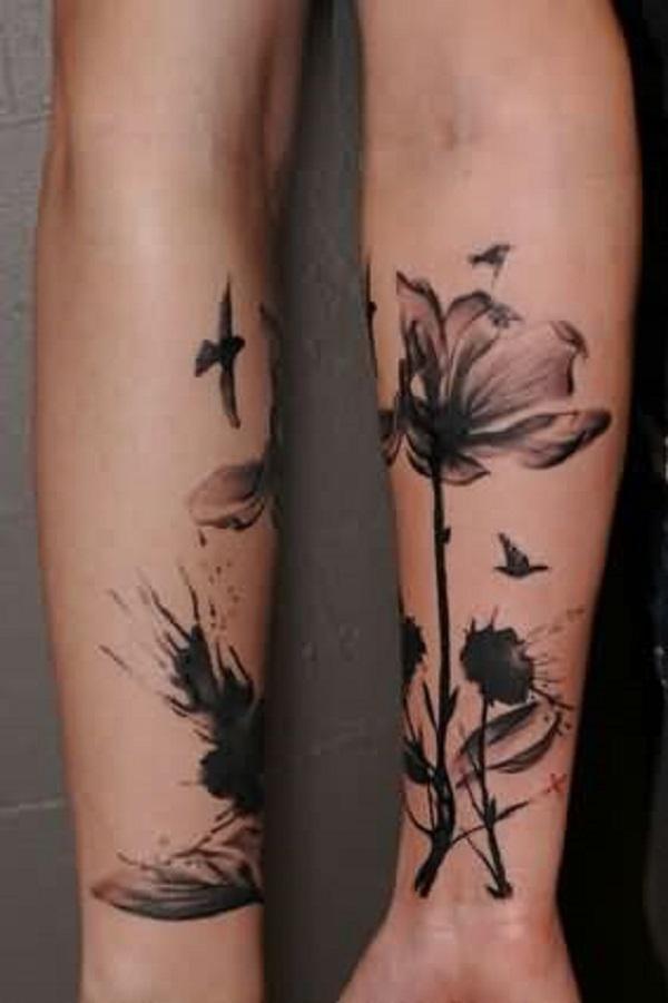 poppy flower tattoo 40