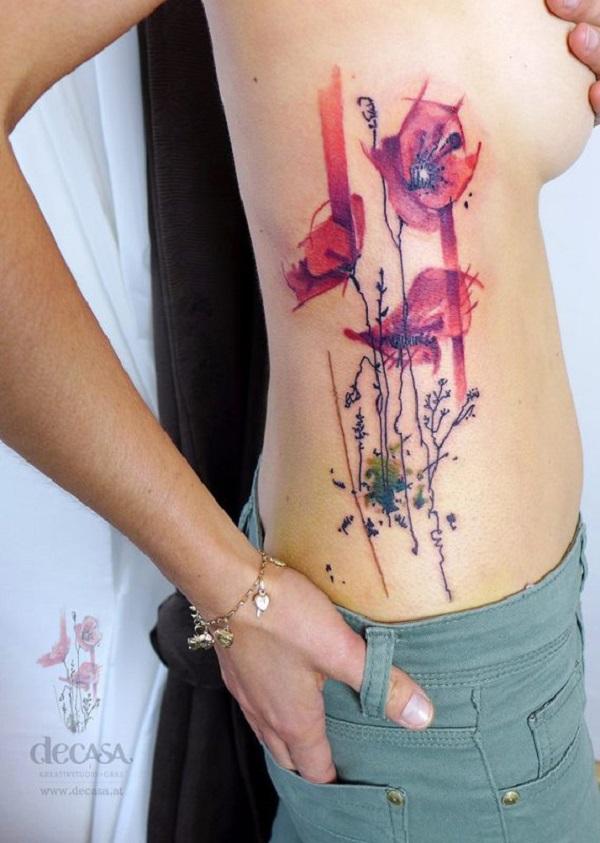 poppy flower tattoo 49