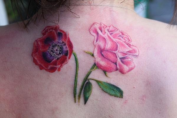poppy flower tattoo 61