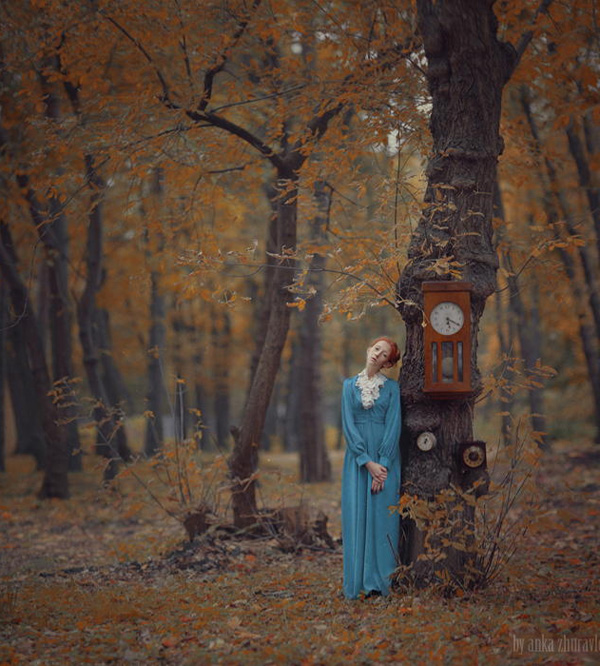 time by anka zhuravleva