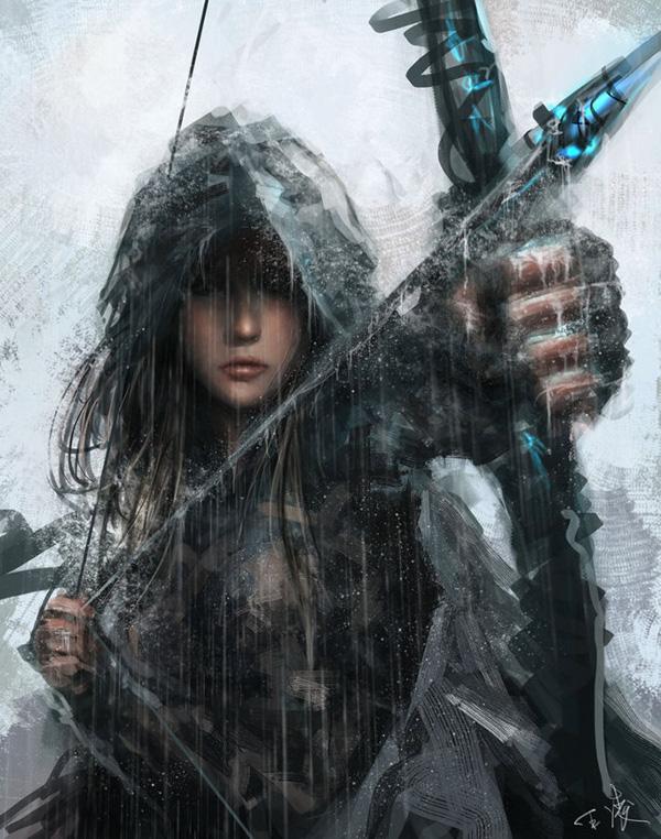 warrior_2_by_wlop