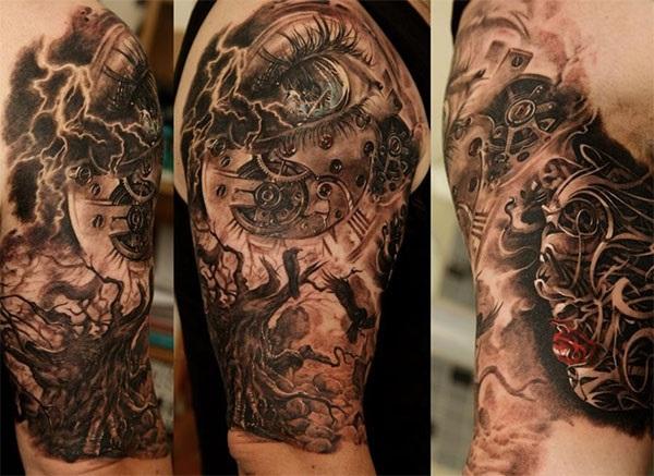 60 awesome arm tattoo designs nenuno creative. Black Bedroom Furniture Sets. Home Design Ideas