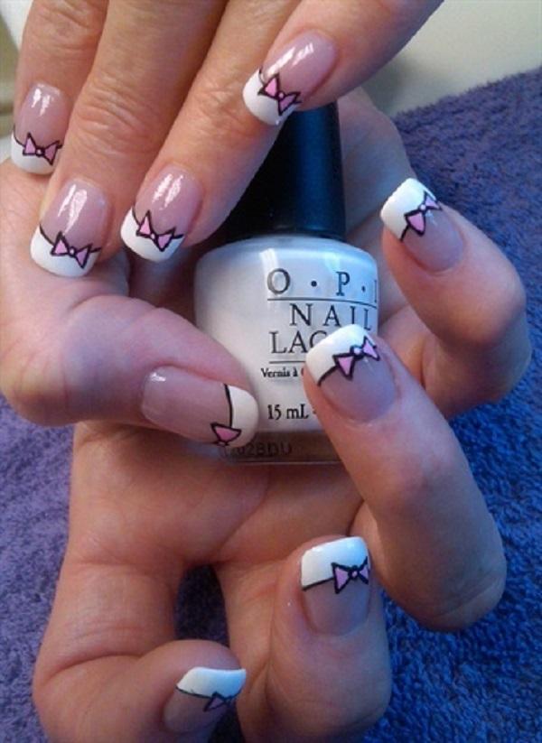 Bow Nail Art 45