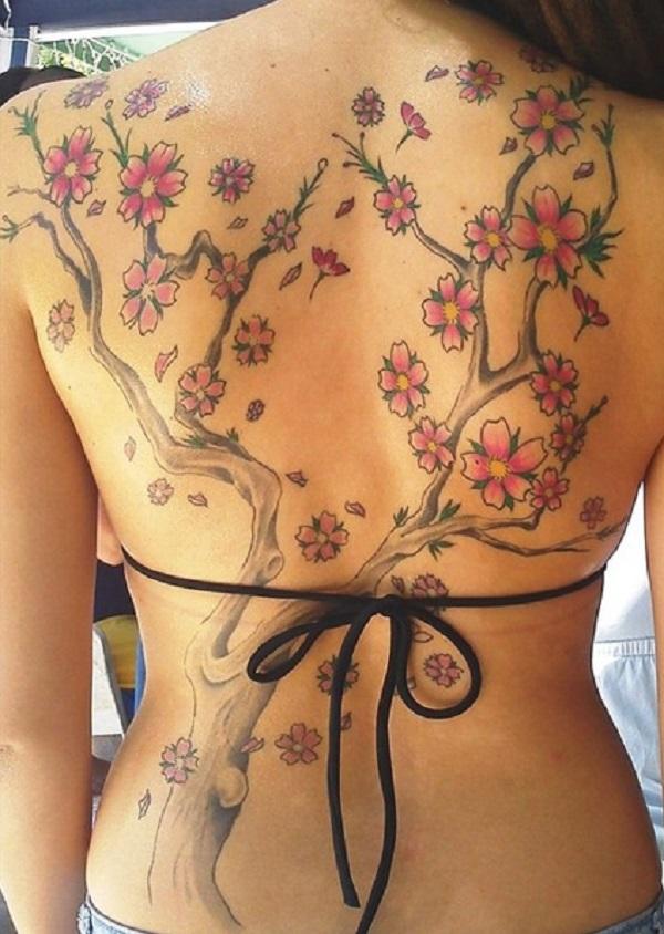 Cherry Blossom Tattoos 21
