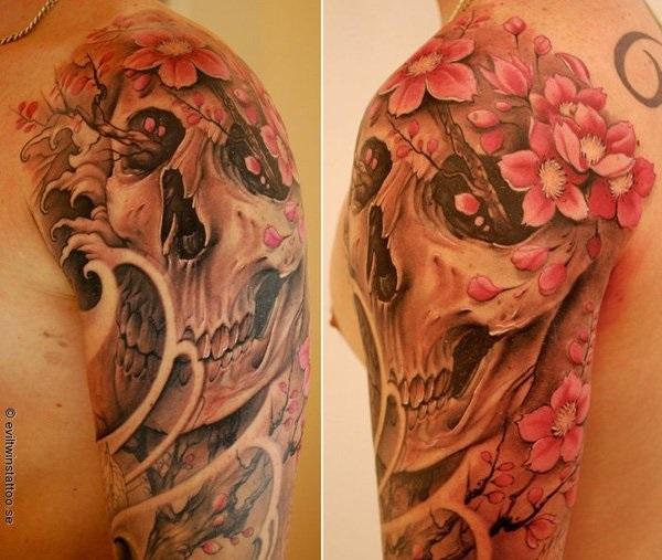 Cherry Blossom Tattoos 3
