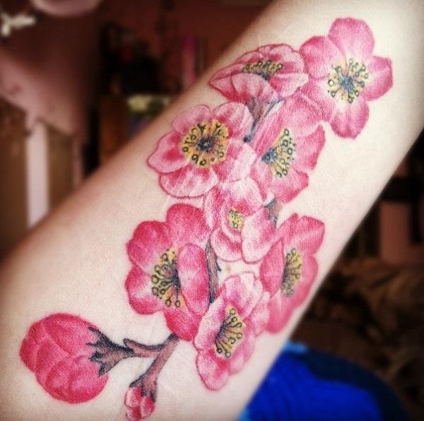 Cherry Blossom Tattoos 51