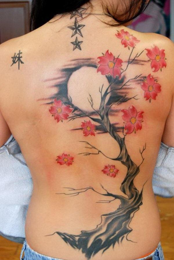 Cherry Blossom Tattoos 53