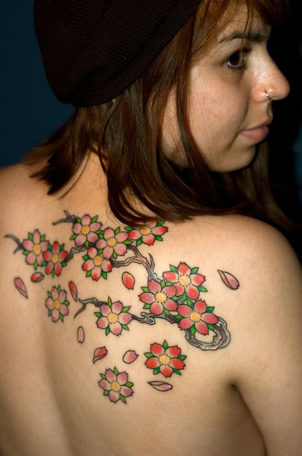 Cherry Blossom Tattoos 7