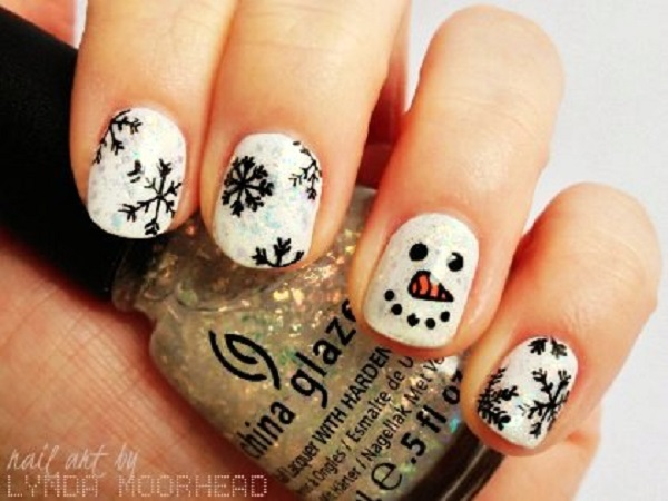 Christmas nail art 21
