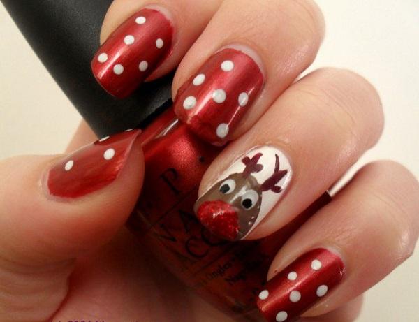 Christmas nail art 26