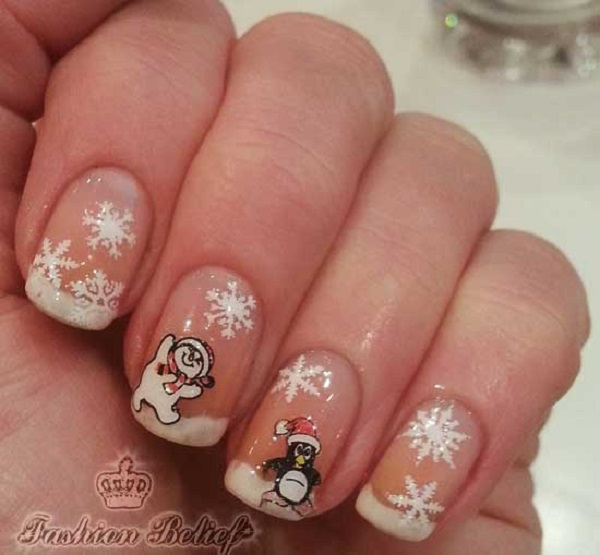 Christmas nail art 30