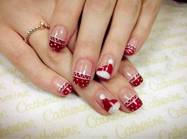 Christmas nail art 39