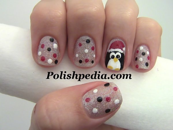 Christmas nail art 40
