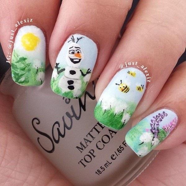 Christmas nail art 43