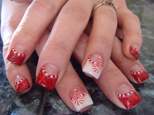 Christmas nail art 45