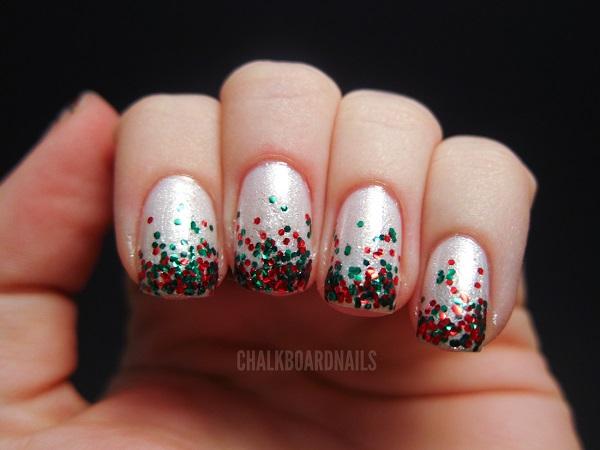Christmas nail art 47