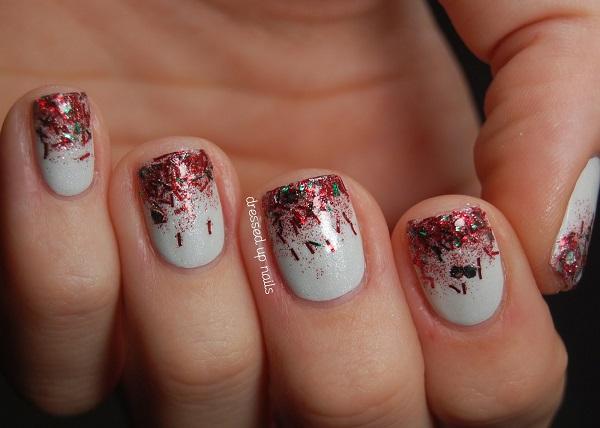 Christmas nail art 52