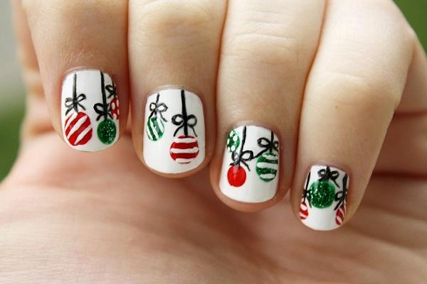 Christmas nail art 54
