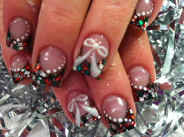 Christmas nail art 62