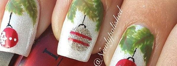 65 Christmas Nail Art Ideas - nenuno creative - photo #19