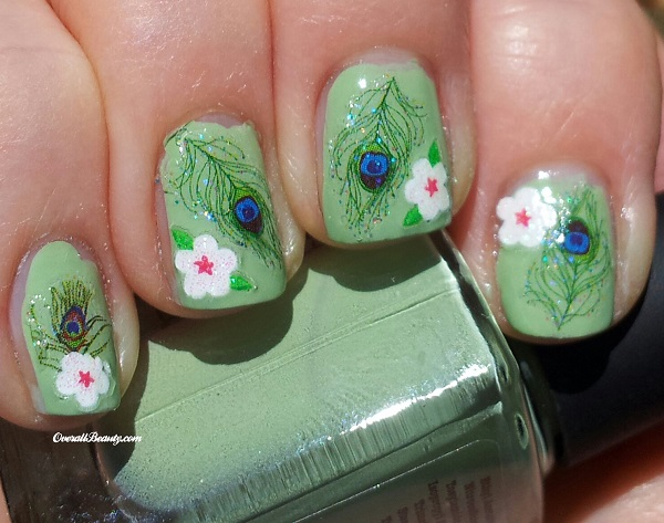 Feather Nail Art 24