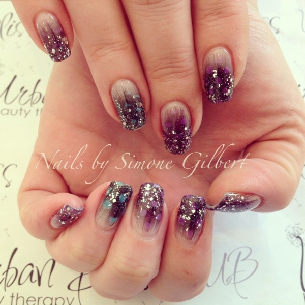 Feather Nail Art 33