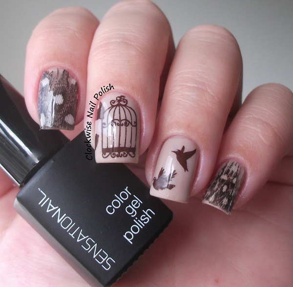 Feather Nail Art 7