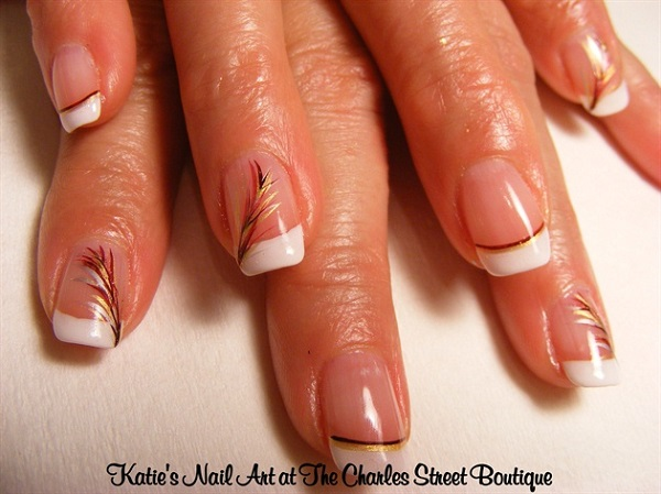 Feather Nail Art 9